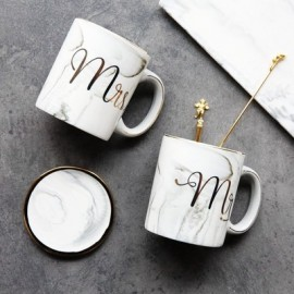 Mr and Mrs Marble mug